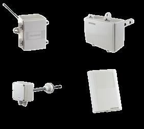 空調制御に必要な各種センサー